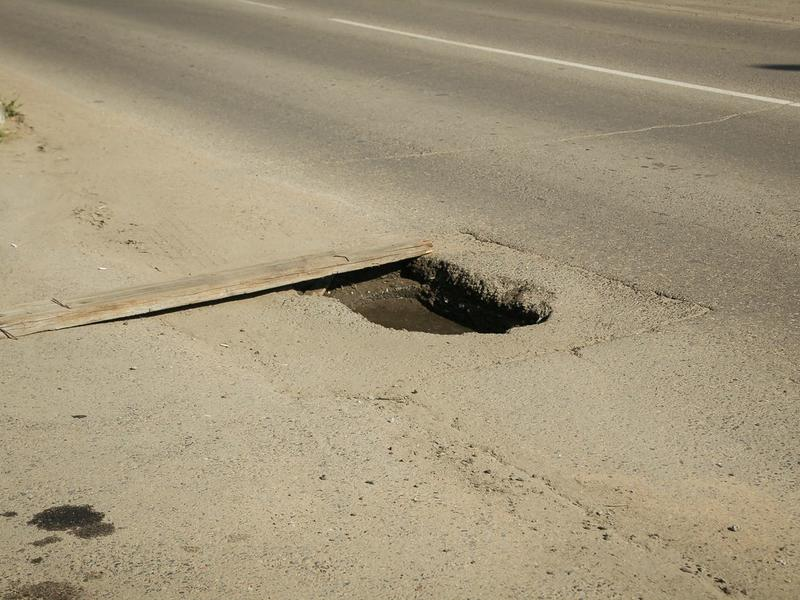 Жительница Читы раскритиковала городские власти за плохое состояние дорог