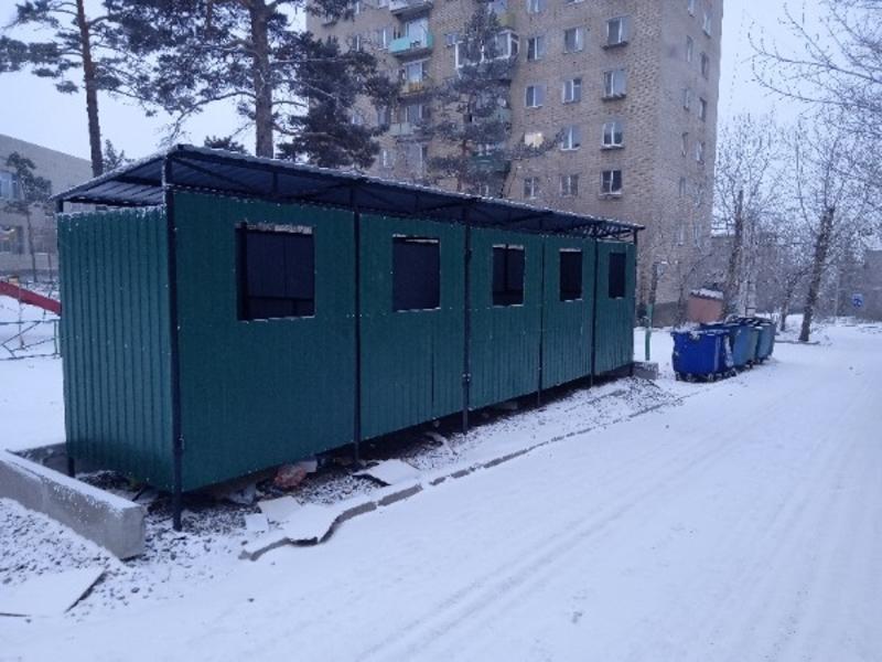 Площадку для сбора мусора в Северном не оборудовали контейнерами