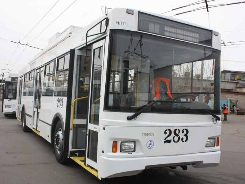 Новые троллейбусы поставят в Читу до середины ноября