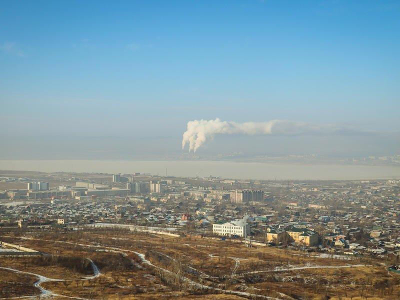 Метеорологи зафиксировали превышение содержания частиц пыли в атмосфере Читы