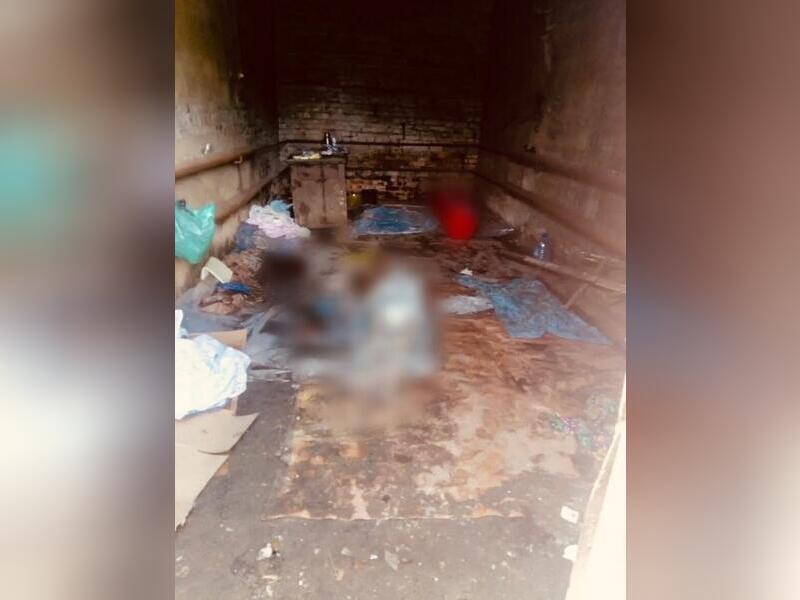 В Могоче обнаружен гараж с телами мертвых людей (18+)