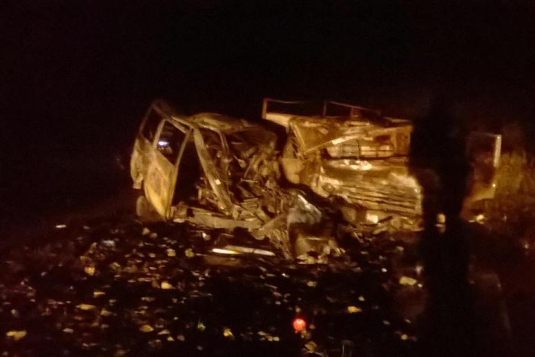 Семья из 5-ти человек погибла вДТП с грузовым автомобилем вЗабайкалье