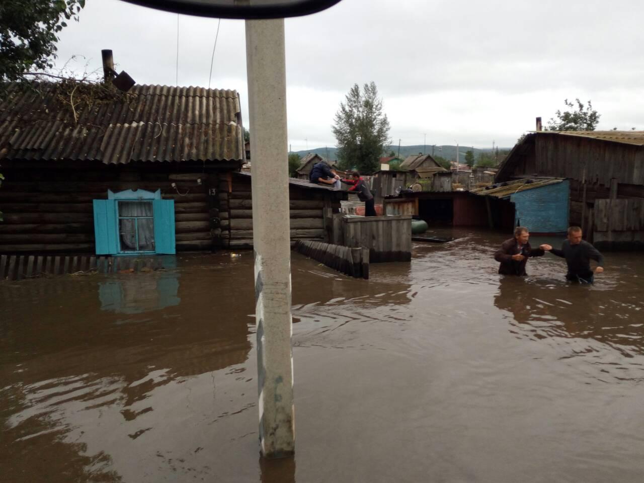 ВЗабайкалье затопило 560 домов