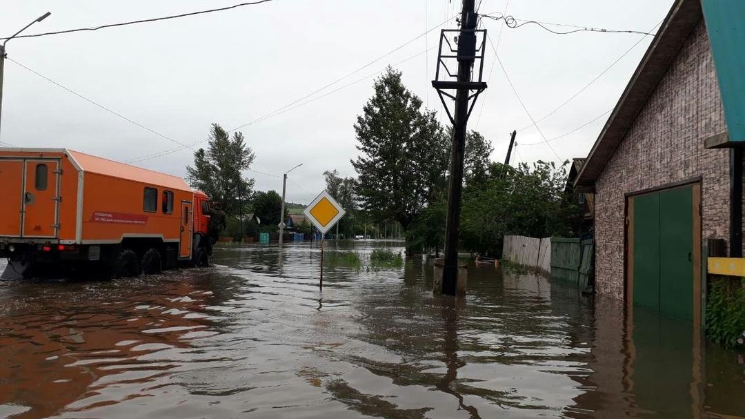 ВЗабайкалье около 2-х тыс. человек эвакуируют из-за паводка