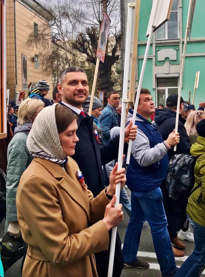 В акции «Бессмертный полк» в Чите приняли участие 22 тыс человек – пресс-служба губернатора